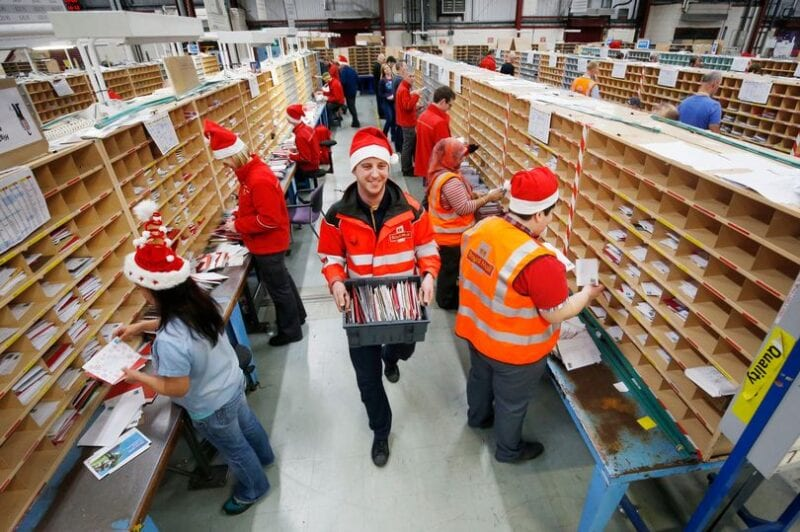 Royal Mail is currently hiring temporary Christmas workers in the North West, The Manc