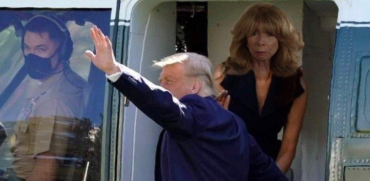 New conspiracy theory claims Gail Platt is Melania Trump's body double, The Manc