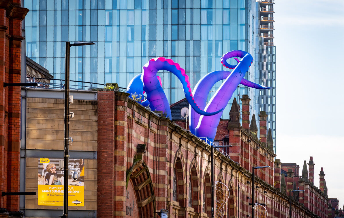 Unmissable offers and a tentacled Halloween monster are taking over Great Northern this half term, The Manc