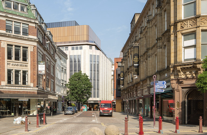 Deansgate Grade II building – home to House of Fraser – to be renovated as office space, The Manc