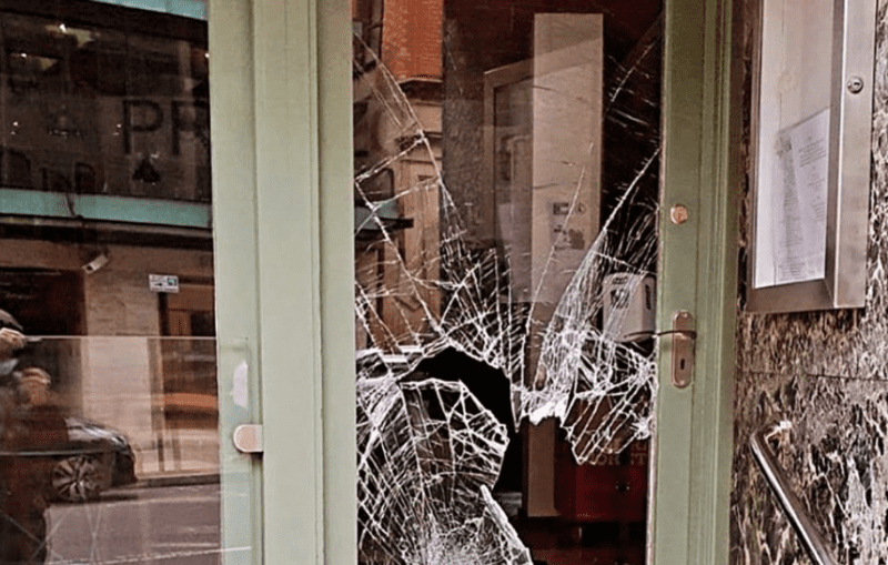 Salvi's Cucina becomes latest Manchester restaurant to fall victim to vandalism, The Manc