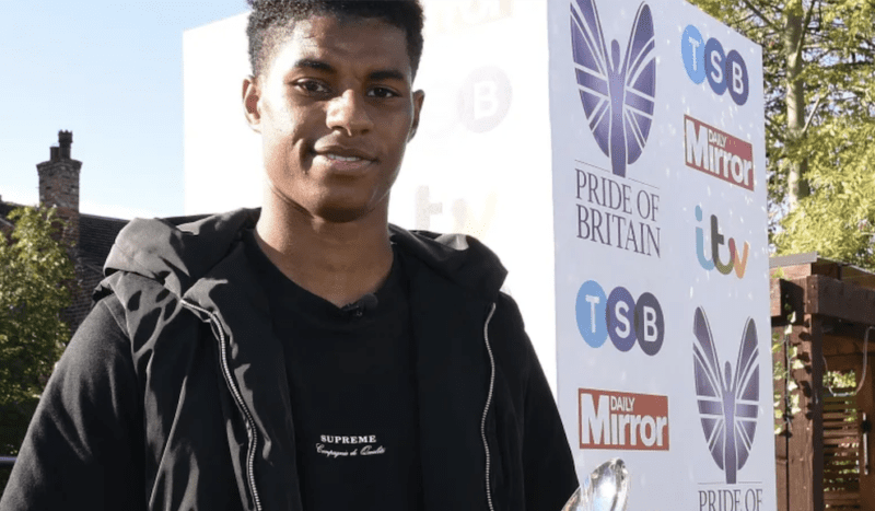 Marcus Rashford wins 'Special Recognition' at Pride of Britain Awards, The Manc