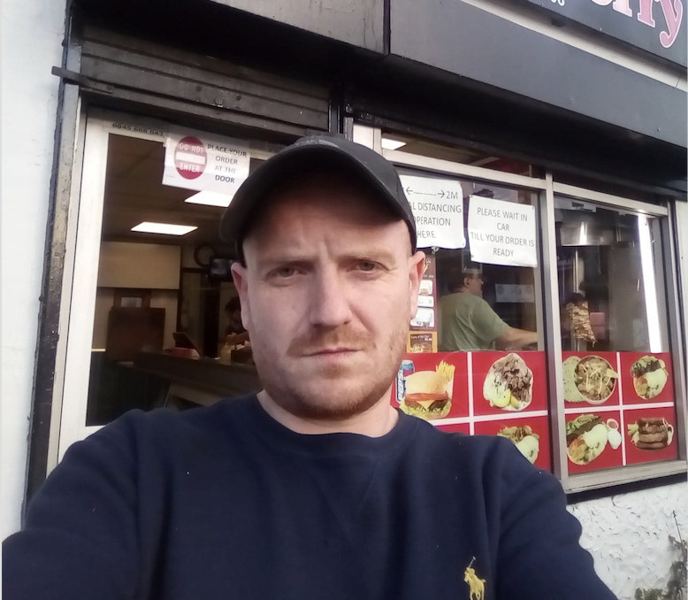 Meet the Manc doing a kebab-themed 'Supersize Me' to raise money for his little girl living with nerve tumours, The Manc