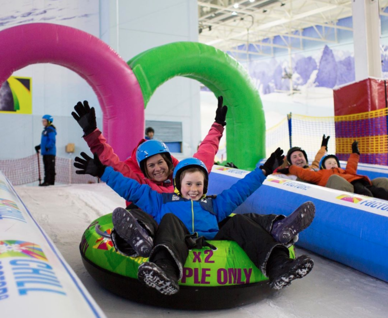 There's plenty of half term offers at Chill Factore this month, The Manc