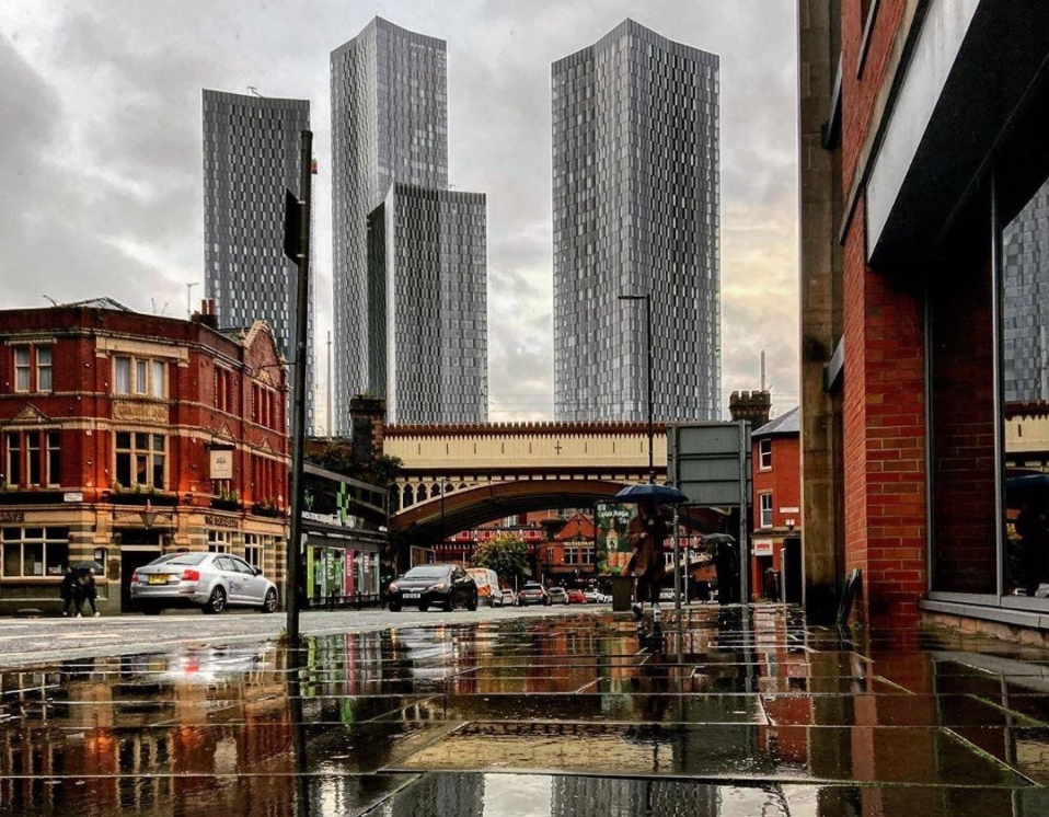 The wettest day in the UK since records began was recorded this month, The Manc