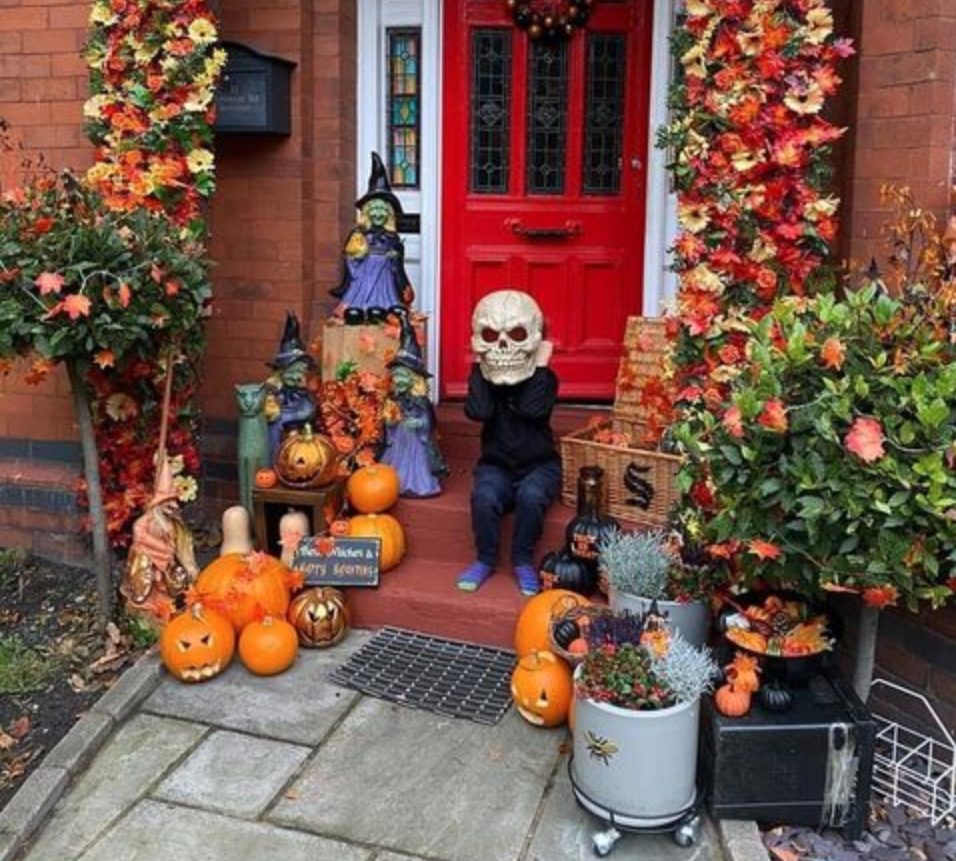 Over 160 houses are taking part in the '4 Heatons Halloween Town' trail in Stockport this weekend, The Manc