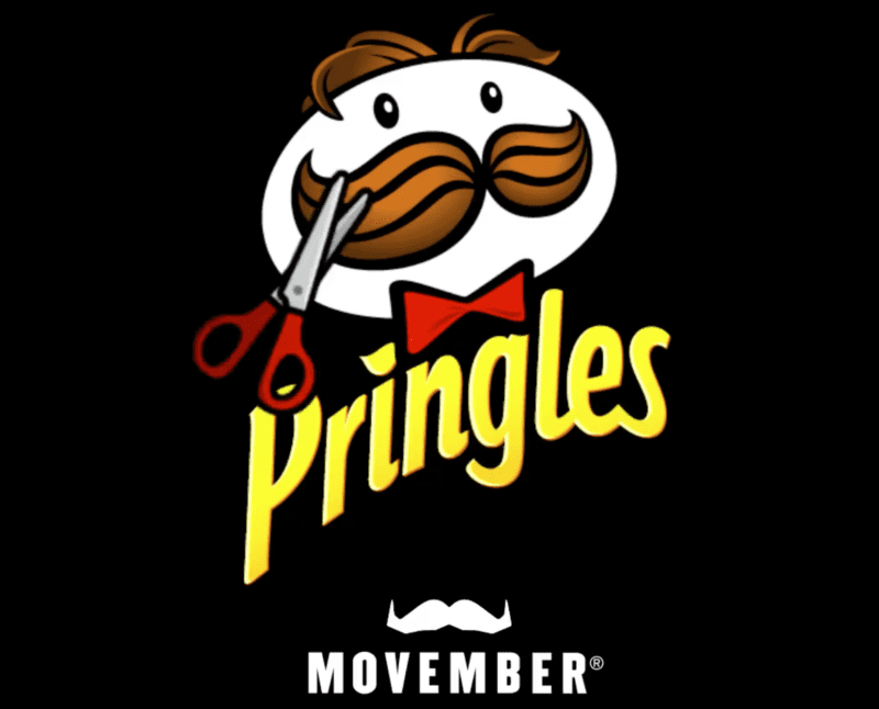 The Pringles man has shaved off his iconic moustache after 52 years for Movember this year, The Manc