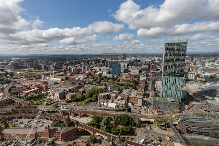 Living on top of the city: How Manctopia's Sarah Lomas sees Manchester differently from above, The Manc