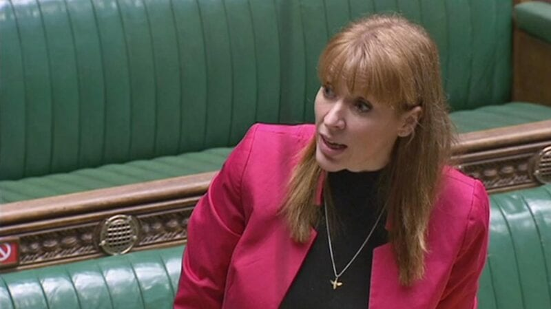 Ashton's Angela Rayner apologises for calling Conservative MP 'scum' in the House of Commons, The Manc
