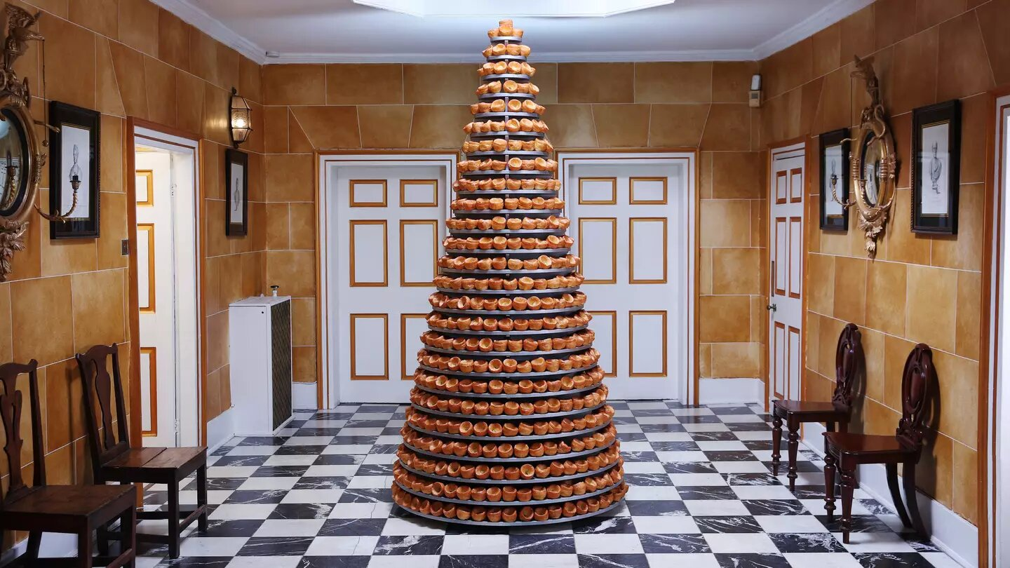 Someone's made a huge 25-tier 'cake' filled with Yorkshire Puddings, The Manc