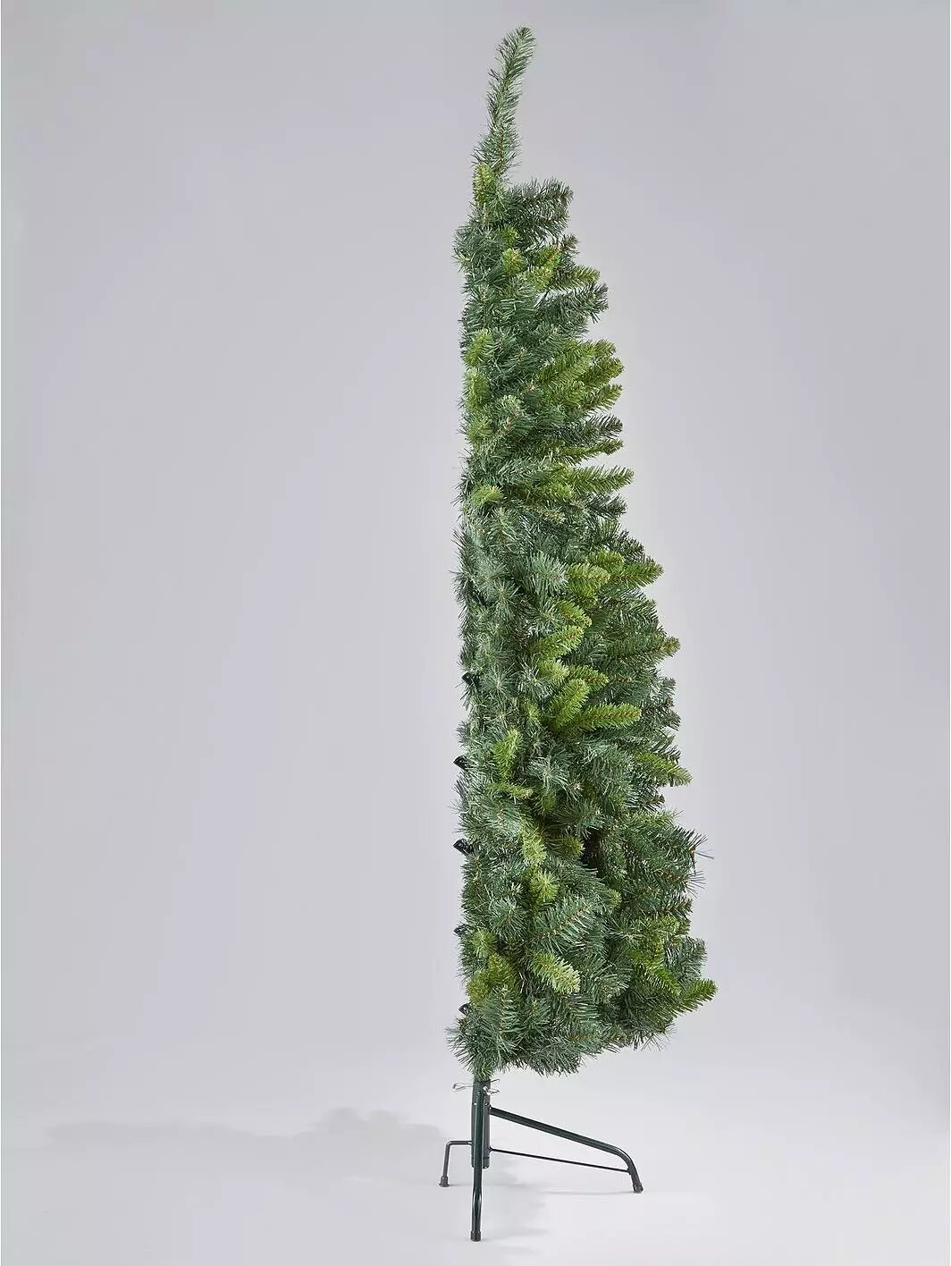 You can now buy half Christmas trees so you don't have to decorate the full thing, The Manc