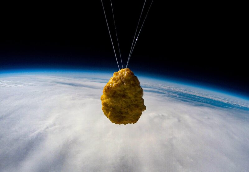 Iceland has just launched the first ever chicken nugget into space, The Manc