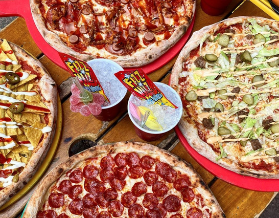 You can now get bottomless pizza and booze every weekend at Crazy Pedro's, The Manc