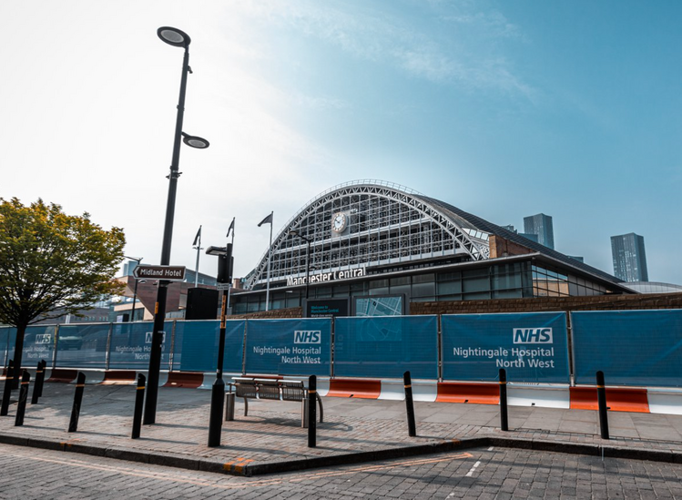 Manchester's Nightingale Hospital will reopen at the end of next week, The Manc