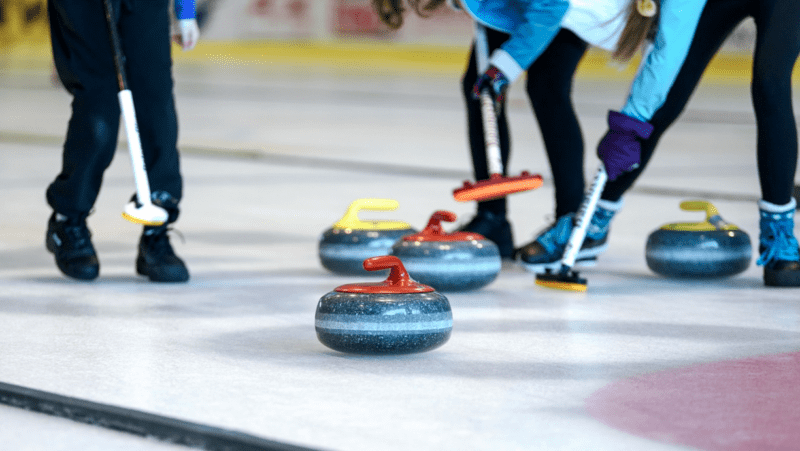 Ice Curling Lanes are coming to Winter Island at Depot Mayfield next month, The Manc