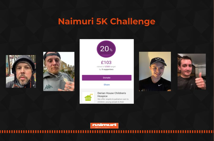 This Manchester-based tech company aims to raise £500 for Derian House with '5K Challenge', The Manc