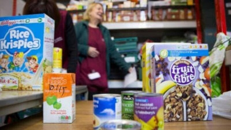 Stretford Foodbank 'almost full' following an overwhelming amount of donations from locals, The Manc