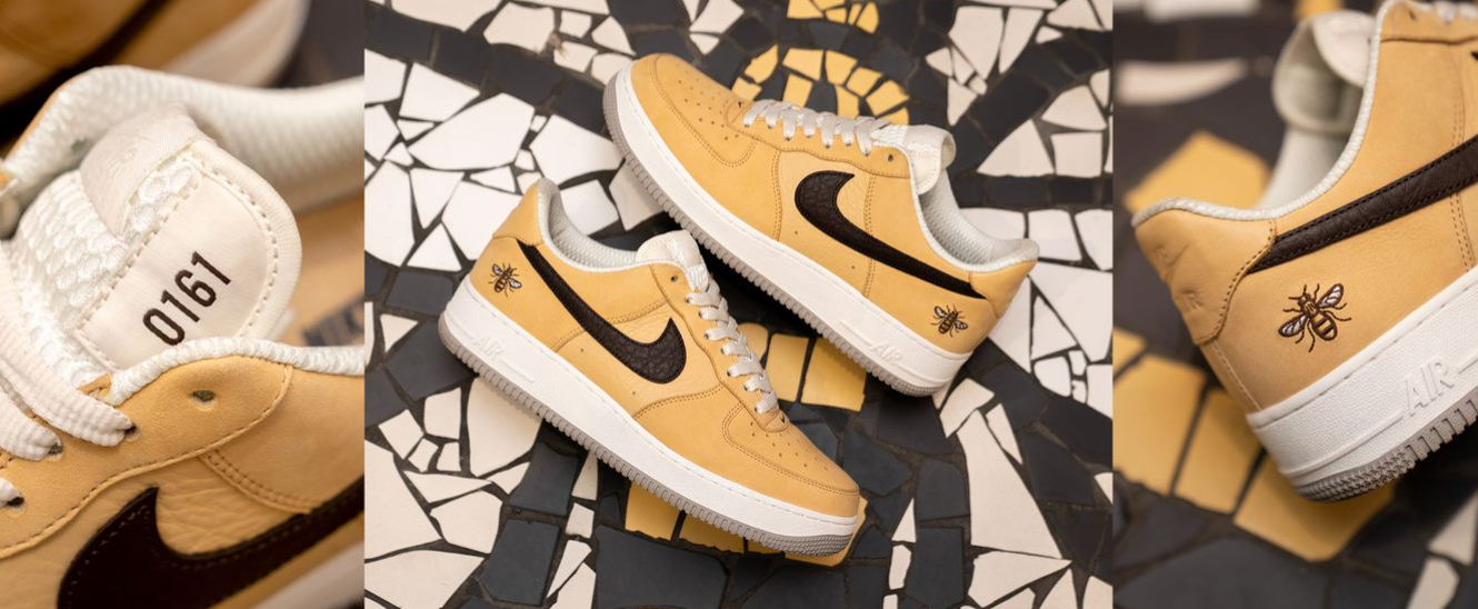 size? and Nike partner with We Love MCR for exclusive 'Nike Air Force 1 Manchester' launch, The Manc