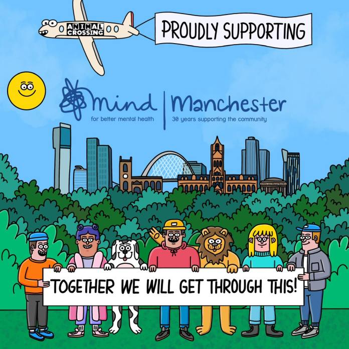 This Manchester label has teamed up with Manchester Mind to raise money and mental health awareness, The Manc