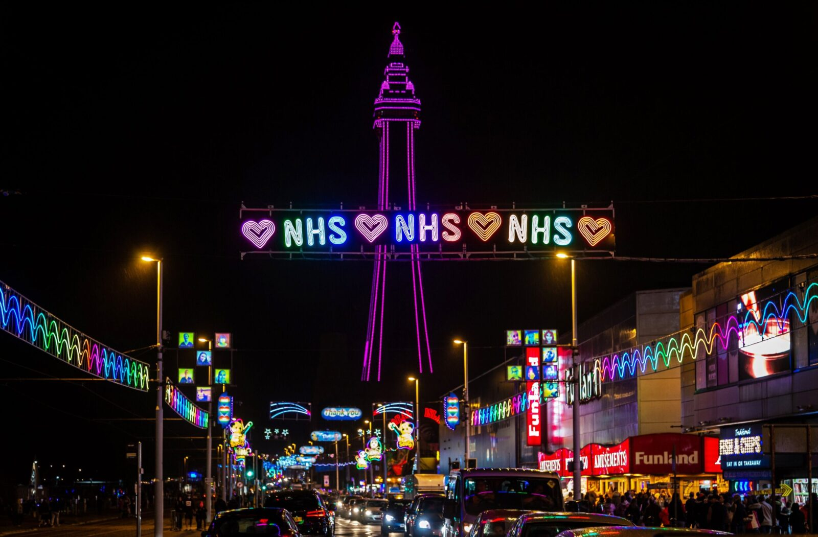 Blackpool Illuminations will be switched back on next Wednesday, The Manc