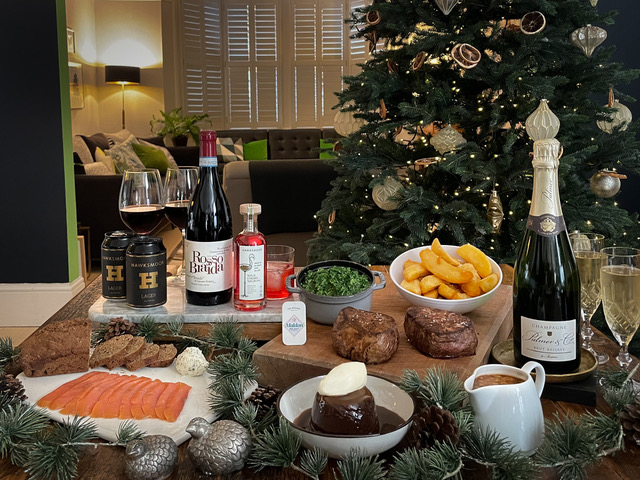 You can now get a 'Hawksmoor at Home' festive food hamper delivered to your front door, The Manc
