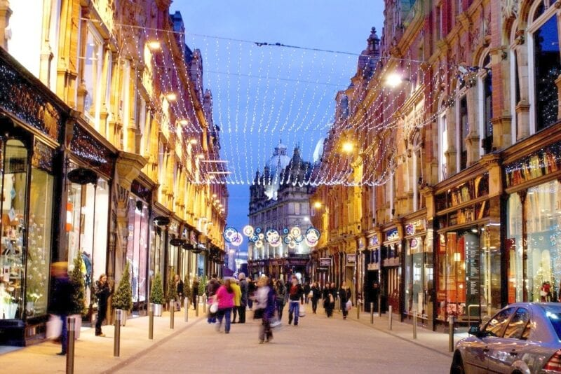 Retail stores will be allowed to open 24 hours a day for Christmas shopping, The Manc