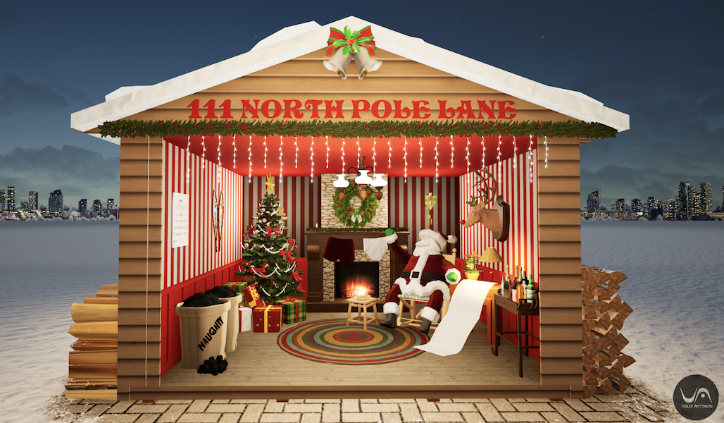 An immersive drive-in Christmas experience is coming to Manchester's EventCity, The Manc