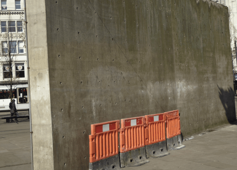 Work to remove the 'Berlin Wall' in Piccadilly Gardens starts this week, The Manc