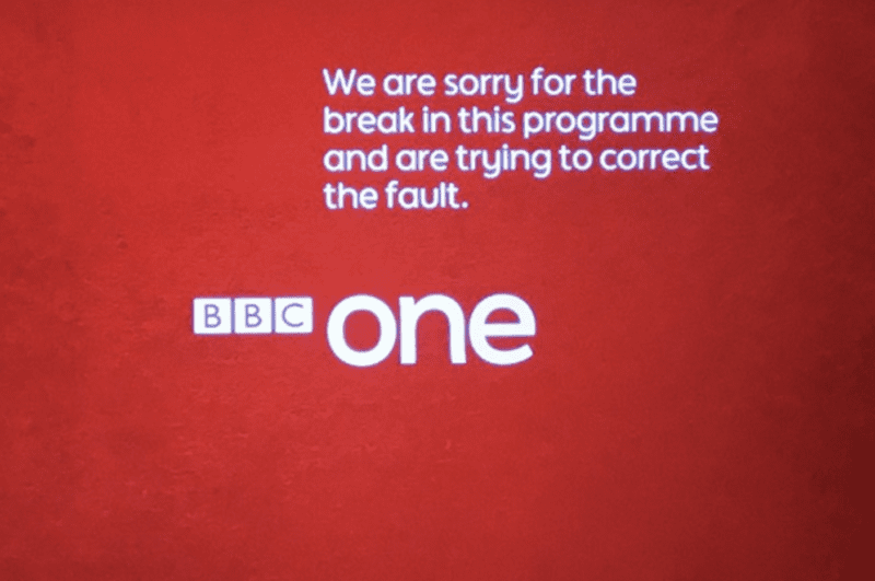 BBC One goes down for more than 10 minutes following 'major' technical issues, The Manc