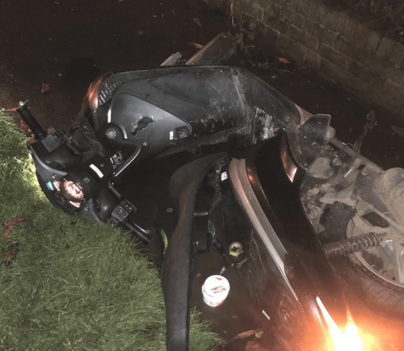 Police recover stolen motorbike in Stockport in a story 'you couldn't make up', The Manc
