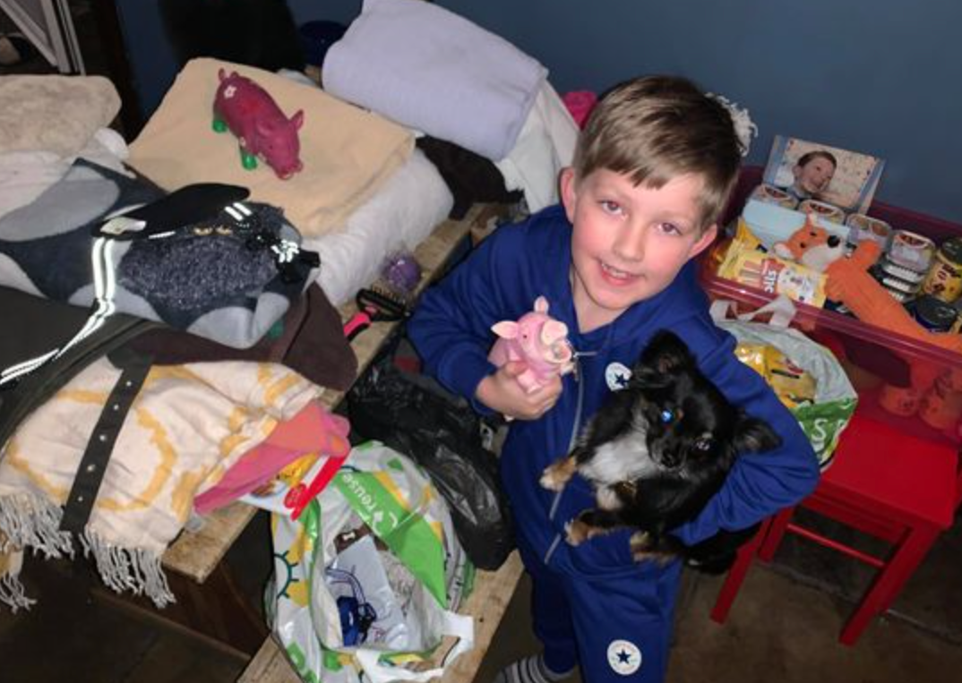 Stockport boy raises over £470 to feed pups at Manchester Dogs' Home this Christmas, The Manc