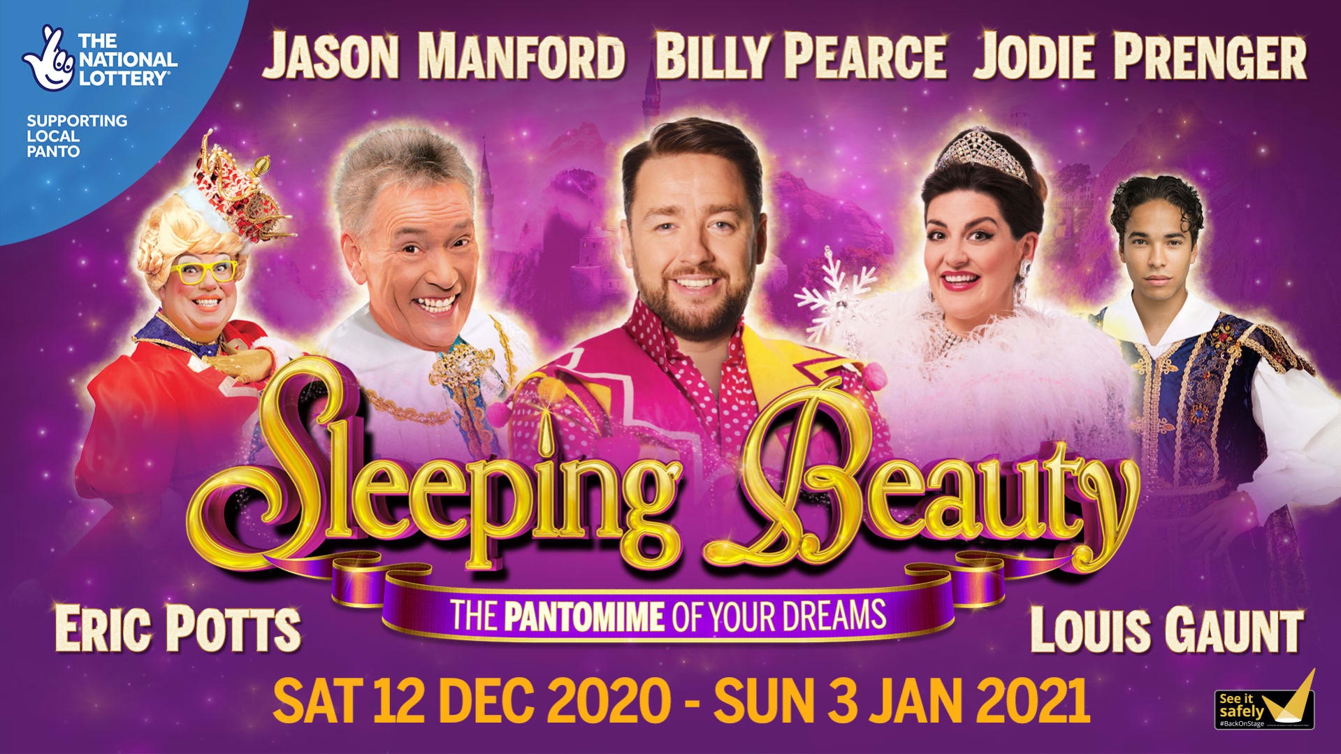 NHS staff can get free tickets to Manchester Opera House's socially-distanced Christmas pantomime, The Manc