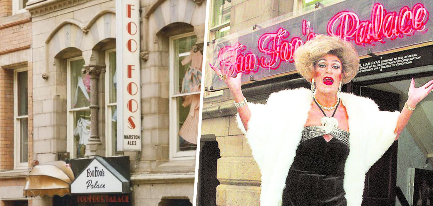 People have been sharing memories of Manchester's iconic Foo Foos Palace cabaret bar, The Manc