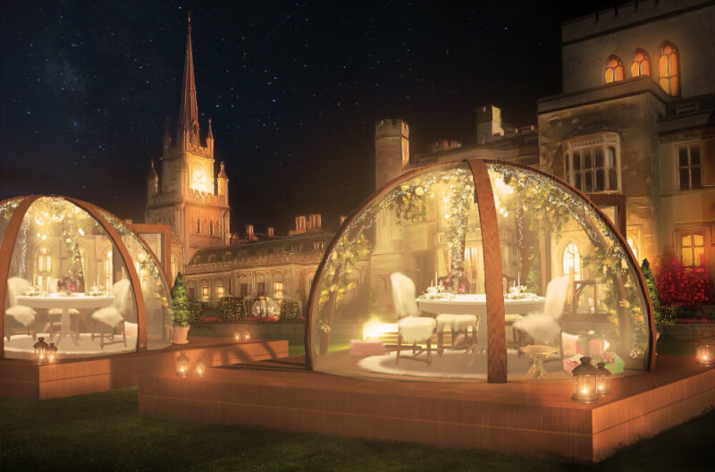 You can treat yourself to a festive globe dining experience in Hertfordshire this Christmas, The Manc