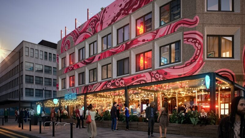 There's a brand new BrewDog beer hotel coming to Manchester next year, The Manc