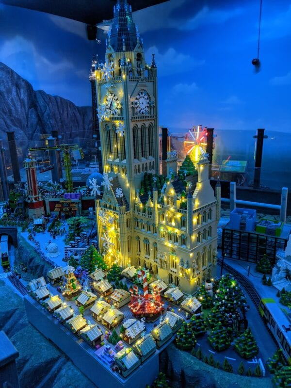 Someone's re-created Manchester's cancelled Christmas celebrations using lego, The Manc