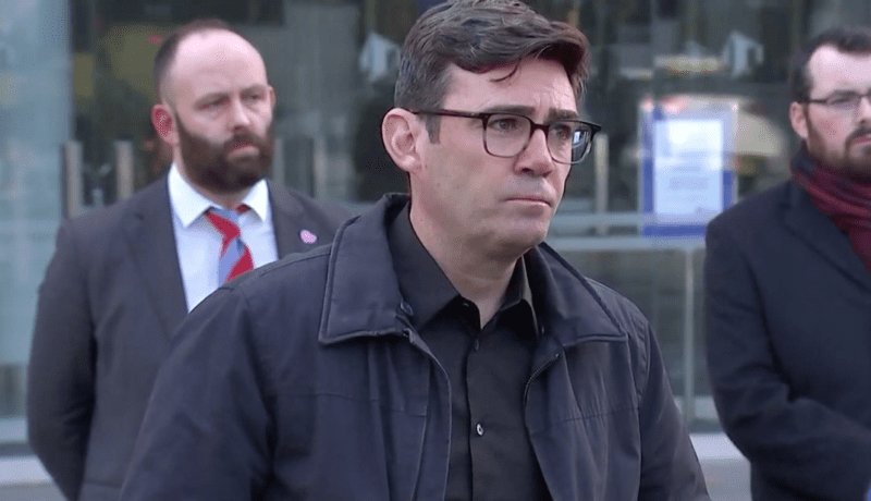 Andy Burnham calls for two-week school closure to ensure 'some kind of Christmas' for Greater Manchester, The Manc