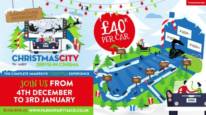 This drive-in Christmas event lets you whisk your whole family to the North Pole, The Manc