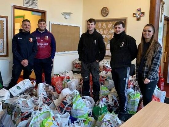 Scaffolder inspired by Marcus Rashford's campaign raises £11,000 worth of food for kids over Christmas, The Manc