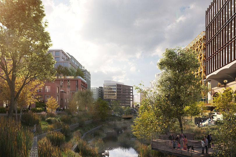 Work is now underway on Manchester's first city centre park in 100 years, The Manc