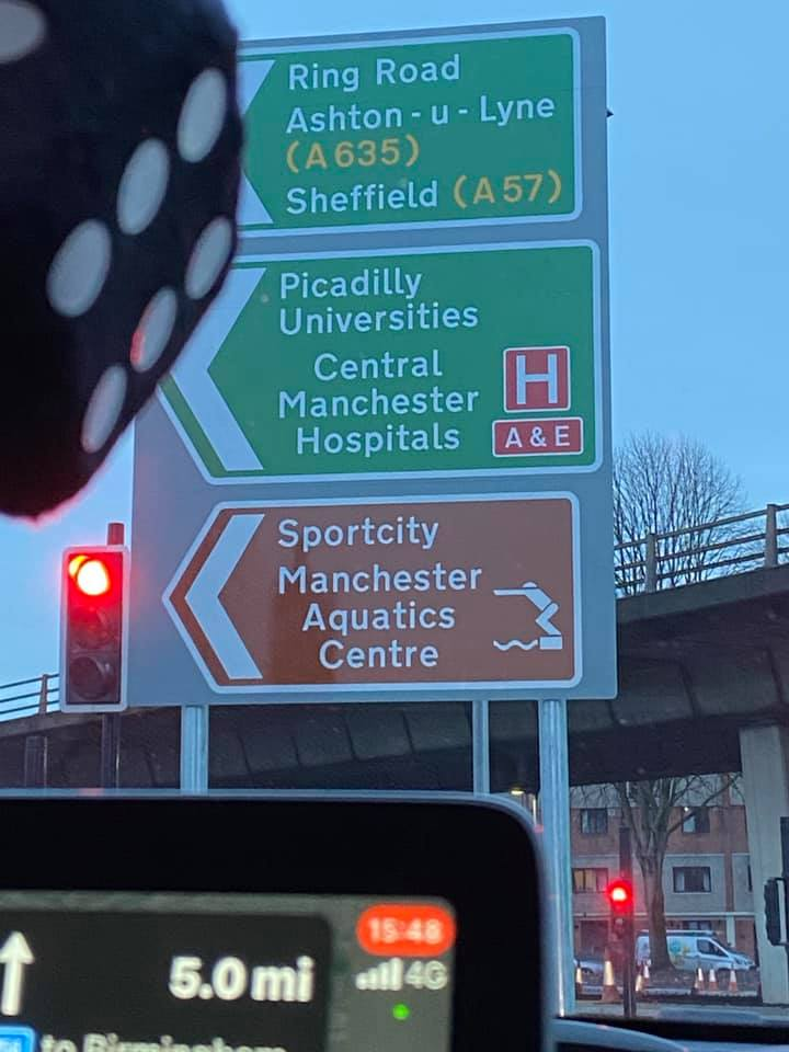 The errors on new road signs around the city centre have sparked a Mancunian spelling debate, The Manc