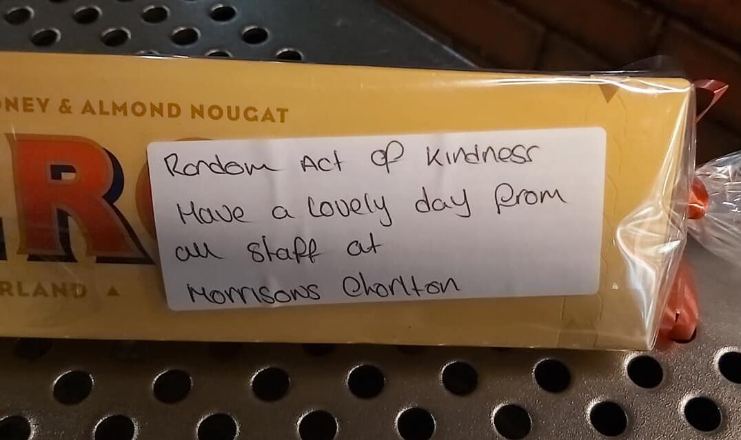 Teaching assistant reduced to tears after 'random act of kindness' by Morrisons staff in Chorlton, The Manc