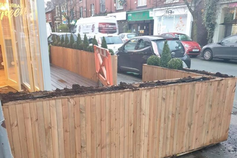 Owners of new Chorlton restaurant 'heartbroken' after thieves steal plants from outside, The Manc