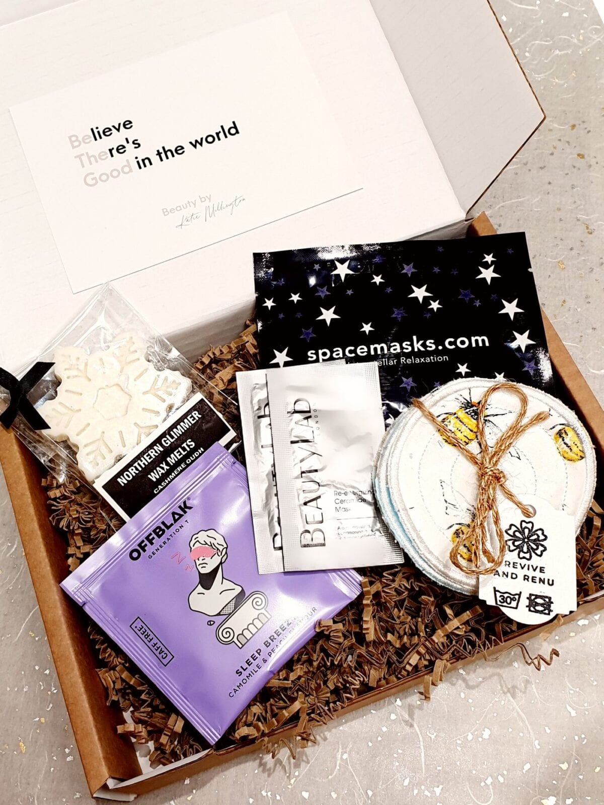The pamper evening in a box delivered straight to your doorstep, The Manc