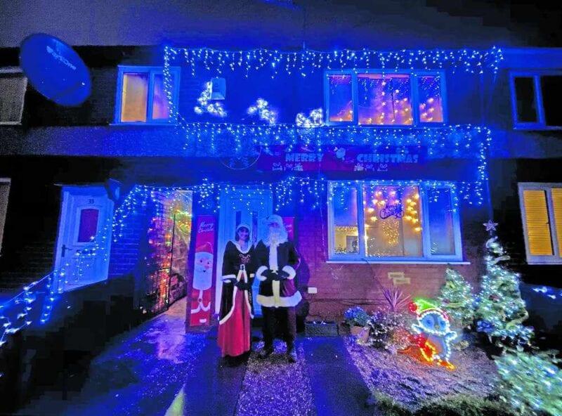 Droylsden couple raise over £2,600 for charity after transforming their garden into a grotto, The Manc