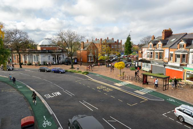 Public asked for their say on fresh plans for Manchester to Chorlton walking and cycling scheme, The Manc