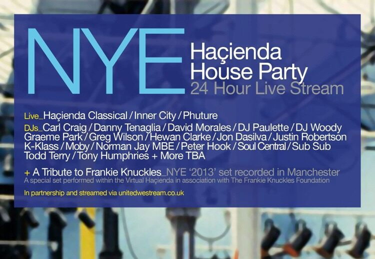 FAC51 and Manchester Camerata to stream 24-hour 'Haçienda House Party' on New Year's Eve, The Manc
