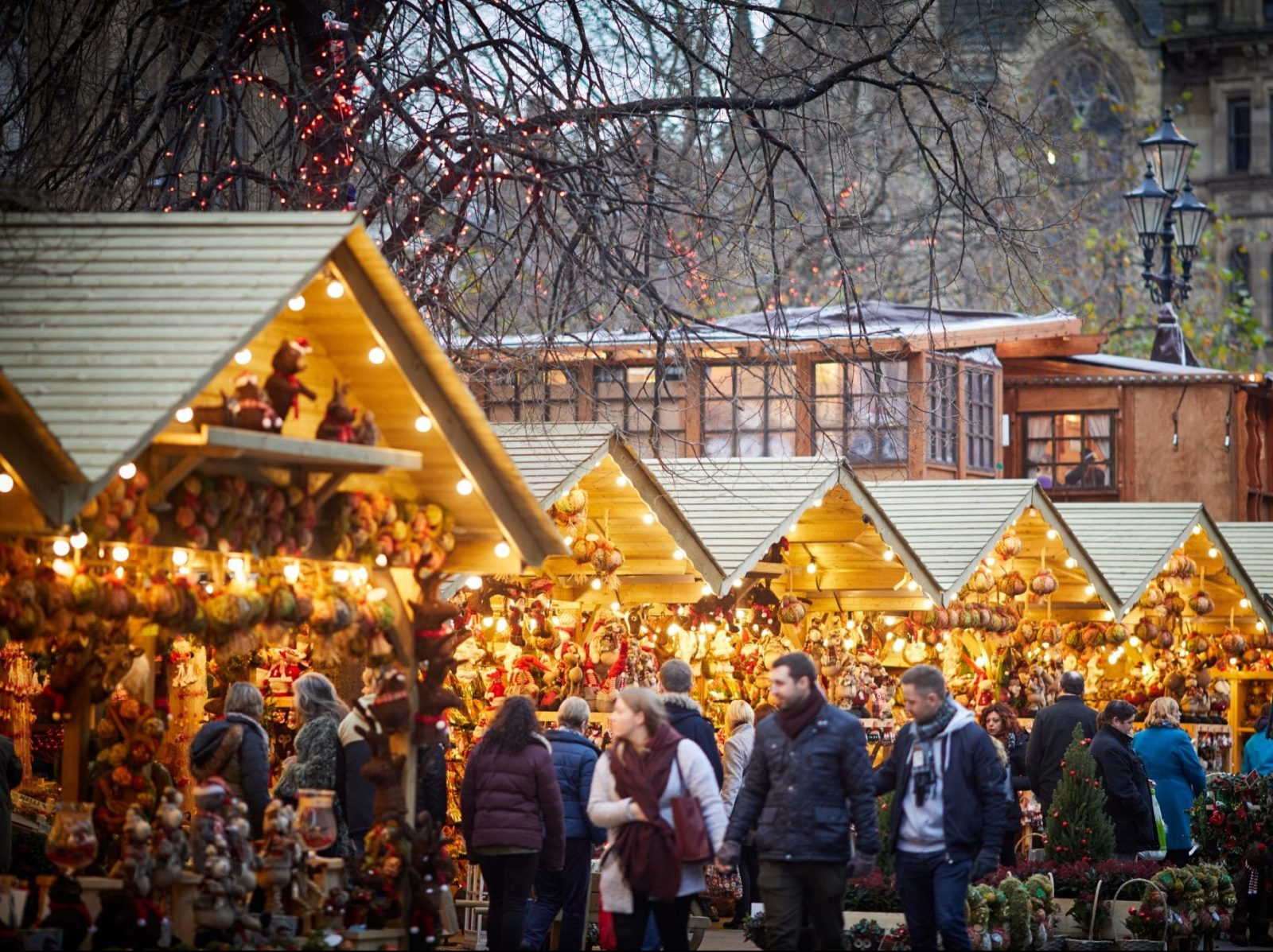 The main hub for this year's Manchester Christmas Markets will be moved to Piccadilly Gardens, The Manc