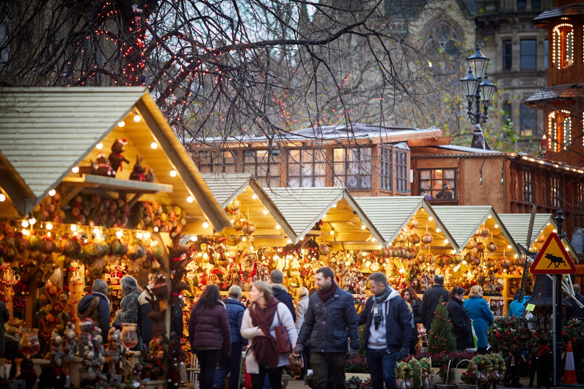 Council confirms two mini Manchester Christmas Markets will go ahead from this week, The Manc