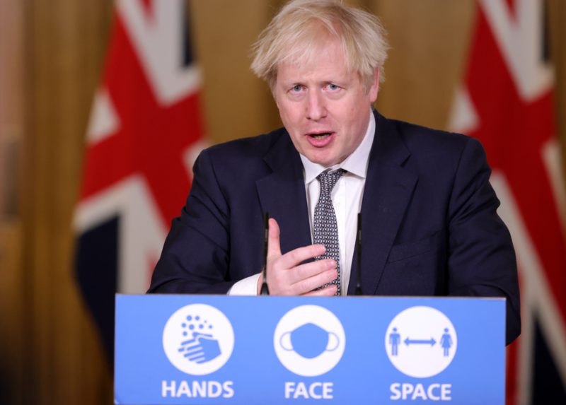 Boris Johnson offers reassurance after UK is cut adrift from over 40 nations, The Manc